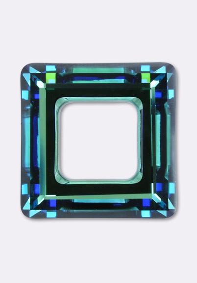 **50 perles FACETTES DE BOHEME 3 mm CRYSTAL BERMUDA BLUE  Preciosa **
