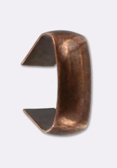 prix style distinctif élégant et gracieux Agrafe pour cordon 7x3 mm cuivre x12 - Embouts et attaches ...