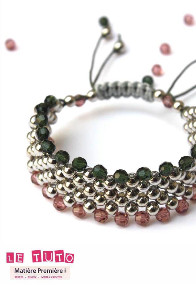 30c66334d7c Bracelet macramé - Les Tutos - Les Tutos