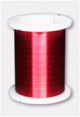 Fil de cuivre 0.25 rouge x28m