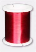 Fil de cuivre 0.45 rouge x18