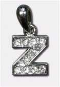 Breloque strass lettre z x1