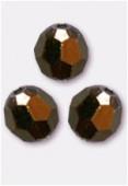 Ronde 5000 4 mm crystal dorado x10