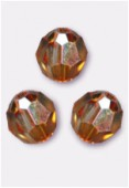 Ronde 5000 4 mm crystal copper x10