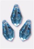 Goutte 6000 11x5,5 mm aquamarine x6