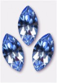 Navette 4228 15x7 mm light sapphire F x1