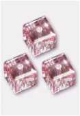 Cube 5601 6 mm light rose x2