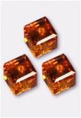 Cube 5601 6 mm topaz x2