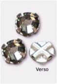 Rose montée 53102-SS16 4 mm black diamond F x12