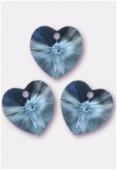Coeur 6228 10,3x10 mm aquamarine x4
