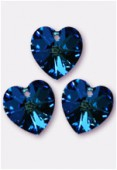 Coeur 6228 18x17,5 mm crystal bermuda blue x1
