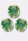 Facette 4 mm jonquil / emerald x50