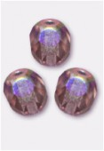 Facette 6 mm light amethyst AB x24