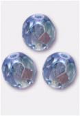 Facette 6 mm light sapphire AB x24
