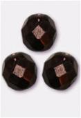 Facette 10 mm dark bronze x6
