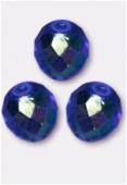 Facette 10 mm sapphire AB x6