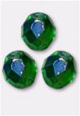 Facette 10 mm emerald AB x6