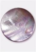 Bouton en nacre 44 mm violet x1