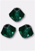 Toupie 5328 3 mm emerald x50