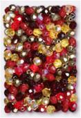 Facette 4 mm mélange landberry x50