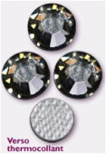 Strass HOTFIX 2028 SS34 7 mm black diamond M HF x144