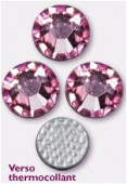 Strass HOTFIX 2038 SS34 7 mm light rose M HF x144