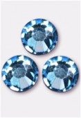 Strass 2058 SS10 3 mm aquamarine F x1440