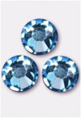 Strass 2058 SS20 5 mm aquamarine F x24