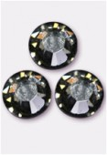 Strass 2058 SS10 3 mm black diamond F x50