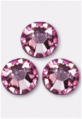 Strass 2058 SS20 5 mm light rose F x24