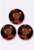 Strass 2028 SS20 5 mm smoked topaz F x24