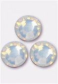 Strass 2058 SS20 5 mm white opal F x24