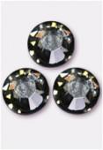 Strass 2058 SS34 7 mm black diamond F x144