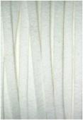 Suédine blanche x1m
