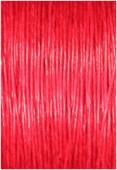 Coton enduit rouge 0.80 mm x1m