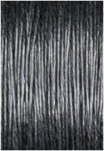 Coton enduit noir 1 mm x1m