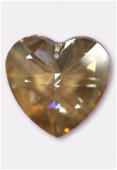 Coeur 6228 40 mm crystal golden shadow x1