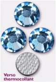 Strass HOTFIX 2028 SS10 3 mm aquamarine M HF x50
