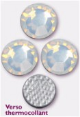 Strass HOTFIX 2028 SS10 3 mm white opal M HF x50