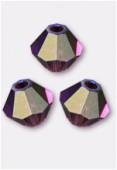 Toupie 5328 4 mm amethyst AB x50