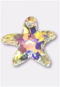 Etoile de mer 6721 40 mm crystal AB x1