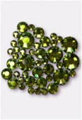 Strass HOTFIX 2078 3 mm / 5 mm / 7 mm olivine M HF x42