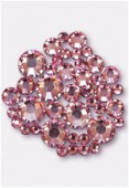 Strass 2028 3 mm / 5 mm / 7 mm light rose F x42