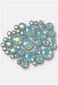 Strass HOTFIX 2028 3 mm / 5 mm / 7 mm pacific opal M HF x42