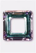 Carré évidé 4439 20 mm crystal vitrail light x1