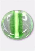 Perle en verre palet VP33 vert x4