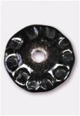 Perle en verre palet VP4 noir x1