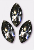 Navette 4228 15x7 mm black diamond F x1