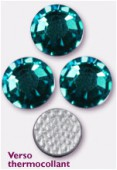 Strass HOTFIX 2028 SS34 7 mm blue zircon M HF x12