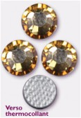 Strass HOTFIX 2038 SS34 7 mm crystal golden shadow M HF x12